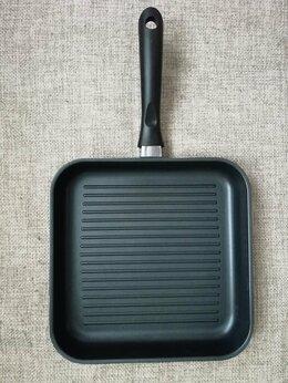 Сковороды и сотейники - Сковорода гриль 28х28 см Rondell, 0