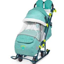 Коляски - Санки-коляска Nika Ника детям 7-3 (НД 7-3), 0