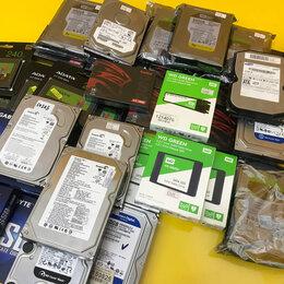 Внешние жесткие диски и SSD - Жёсткие диски/Новые и Б/У SSD/HDD/M.2, 0