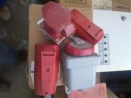 Товары для электромонтажа - Розетки электрические 3P+N Б/У, 0