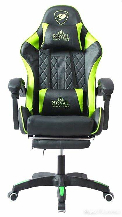 Геймерское кресло Royal с подножкой. Новое по цене 12000₽ - Компьютерные кресла, фото 0