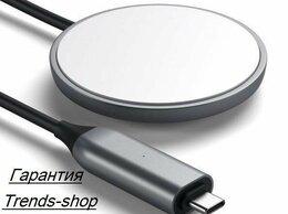 Зарядные устройства и адаптеры - Магнитная беспроводная зарядка для iPhone 12, 0
