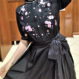 Блузки и кофточки - 🔴 Max Mara Италия блуза с вышивкой шелком и…, 0