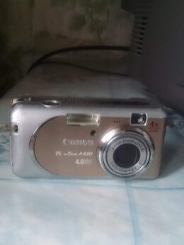 Фотоаппараты - Canon powershot -A 430, 0