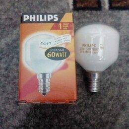 Лампочки - Лампа накаливания Е14 60Вт матовая Philips Польша, 0