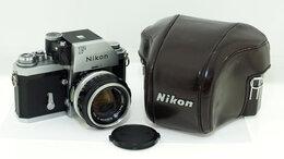 Пленочные фотоаппараты - Фотоаппарат Nikon F с объективом Nikkor-S Auto…, 0