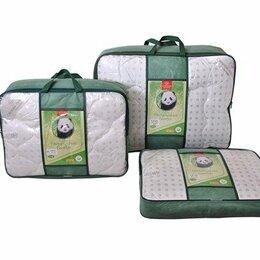Одеяла - Одеяло бамбук 1,5 сп пл. 300 гр. тик/сатин премиум , 0