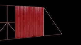 Заборы и ворота - готовые каркасы откатных ворот для проема…, 0