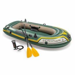 """Аксессуары и комплектующие - Надувная лодка """"Seahawk 2 Set"""", INTEX - 68347, 0"""