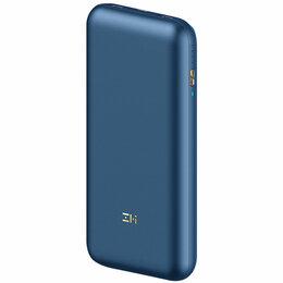 Батарейки - Внешний аккумулятор ZMI 10 Power Bank Pro 65W (20000 mah, синий), 0
