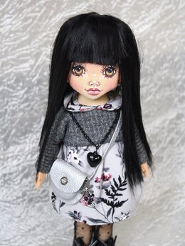 Куклы и пупсы - Кукла текстильная ручной работы, 0