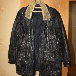Куртки - Куртка мужская натуральная кожа размер 50-52, 0