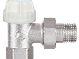 Комплектующие для радиаторов и теплых полов - S+P Угловой термостатический клапан из латуни…, 0