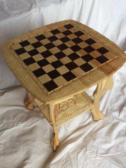 Столы и столики - Шахматный столик, 0