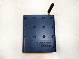 Проводные роутеры и коммутаторы - Роутер GSM EDGE Novacom GNS-ER75i Twin, 0