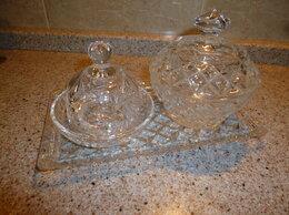 Блюда и салатники - Хрустальный набор для сервировки стола, 0