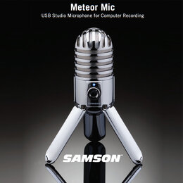Микрофоны - Samson Meteor USB Микрофон студийный…, 0