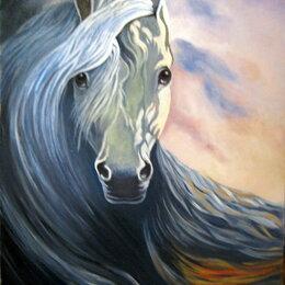 Картины, постеры, гобелены, панно - 3 картины маслом 37*52 см оформлена в багет по 4000 руб., 0
