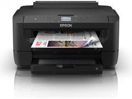Принтеры и МФУ - Принтер Epson WorkForce WF-7210DTW, 0
