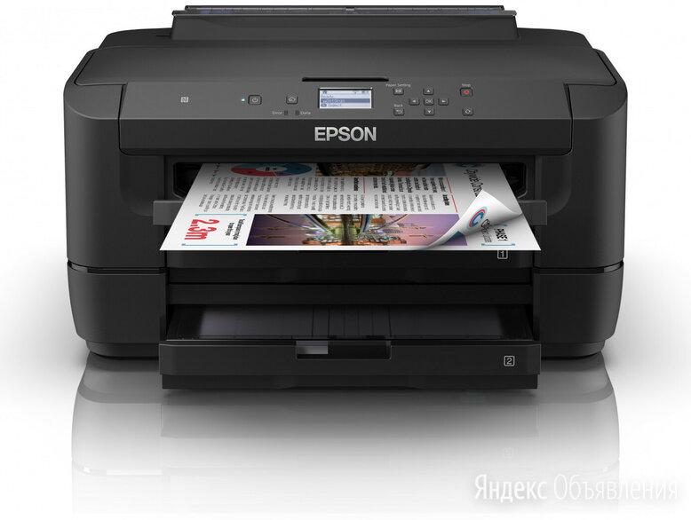 Принтер Epson WorkForce WF-7210DTW по цене 33199₽ - Принтеры и МФУ, фото 0