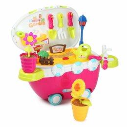 "Развивающие игрушки - Игрушка - каталка ABC ""Цветник на колесах"" , 0"