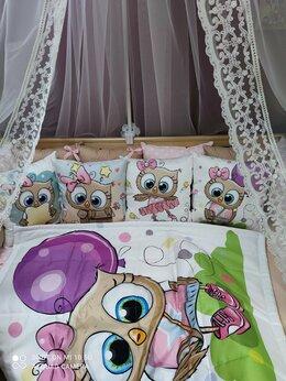 Покрывала, подушки, одеяла - Бортики в кроватку в наличии Новые, 0