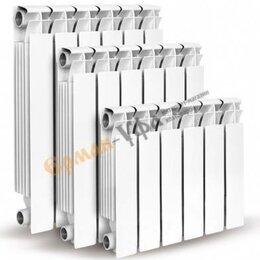 Радиаторы - Радиатор алюм. литой 10сек.(ОАЗИС), 0