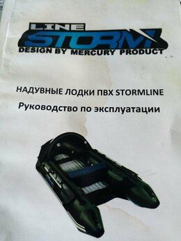 Моторные лодки и катера - Лодка надувная ПХВ ШТОРМ, 0
