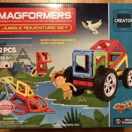 Конструкторы - Конструктор Magformers Jungle adv 32 set, 0