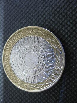Монеты - Монета Великобритания 2 фунта 1999 г.…, 0