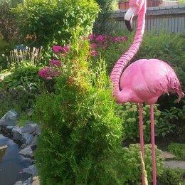 Садовые фигуры и цветочницы - Ковка.Фламинго., 0