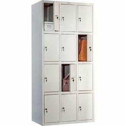 Мебель для учреждений - Шкафы для хранения сумок двенадцатиячеечный LS 34, 0