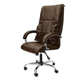 Массажные кресла - Офисное массажное кресло EGO BOSS EG1001 КОФЕ (Арпатек), 0