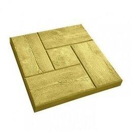 Тротуарная плитка, бордюр - Тротуарная плитка 300*300*30 калифорния дерево желтая, 0
