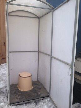 Биотуалеты - Туалет дачный из поликарбоната новый , 0