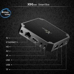 ТВ-приставки и медиаплееры - Смарт ТВ приставка TV Box X96 Mini 4K 1GB/8GB Amlogic S905W, 0