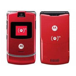 Мобильные телефоны - Motorola RAZR V3i red, 0