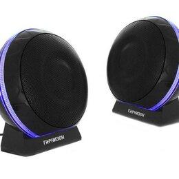 Компьютерная акустика - Акустическая система 2.0 Гарнизон GSP-150 черный 6, 0
