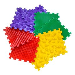 Пазлы - Пазлы для детей - массажный коврик, 0