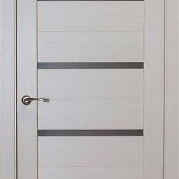 Межкомнатные двери - Дверь 80см ДО «Биланчино» дуб молочный ПВХ, 0