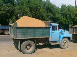 Строительные смеси и сыпучие материалы - Песок, щебень, гравий, отсев, пгс, щпс, плитняк,…, 0