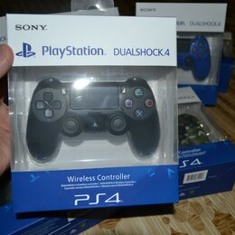Рули, джойстики, геймпады - PS4 геймпад новый / камера / мувы, 0