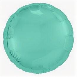 Для шлифовальных машин - Фольгированный круг, Бискайский зелёный, 0
