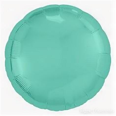 Фольгированный круг, Бискайский зелёный по цене 220₽ - Аксессуары, фото 0