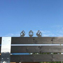 Садовые фигуры и цветочницы - Птички на забор. Украшение для дачи, 0