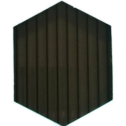 Поликарбонат - Сотовый поликарбонат 10 мм цвет бронза 6 м, 0