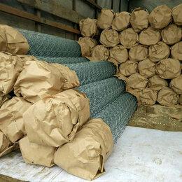 Заборчики, сетки и бордюрные ленты - Прочная оцинкованная сетка рабица, 0