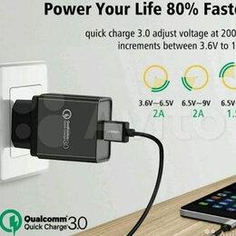 Зарядные устройства и адаптеры - Быстрое Зарядное Quick Charge 1x/3x USB Qualcomm, 0