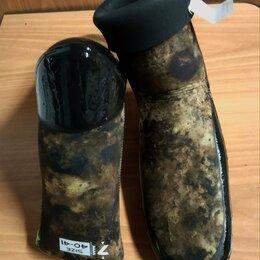 Гидрообувь - Носки Aquadiscovery Camo Brown 7 мм. Усиленные, 0