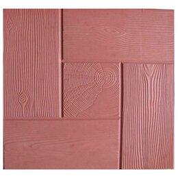 Тротуарная плитка, бордюр - Тротуарная плитка 300*300*30 калифорния дерево красная, 0
